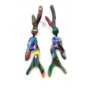 Boucles d'oreilles Recifes Pollock