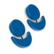 Boucles d'oreilles Sombra Bleu Ceu