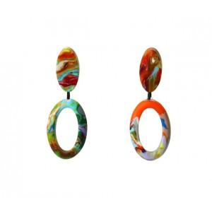 Boucles d'oreilles Atena Pollock Mate