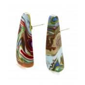 Boucles d'oreilles Guarani Pollock
