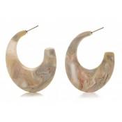 Boucles d'oreilles Potigua Nacre