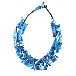 Collier Neoconcretismo Turquoise
