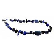 Collier Aventuras Bleu Royale
