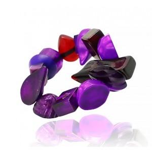 Bracelet Indiana Violet