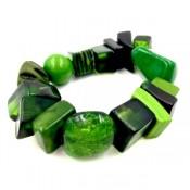Bracelet INDIANA Vert Foncé