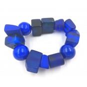 Bracelet Indiana Bleu Royale
