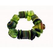 Bracelet Indiana Vert Anis