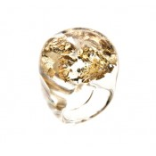 Bague Apolo Or & Cristal