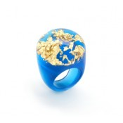 Bague Apolo Turquoise & Or