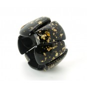 Bracelet RILMA Noir & Or