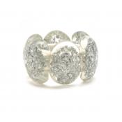 Bracelet Metis Argent & Cristal