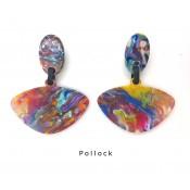 Boucles d'oreilles Alinhavado Pollock