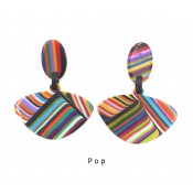 Boucles d'oreilles Alinhavado Pop