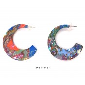 Boucles d'oreilles Chissa Pollock