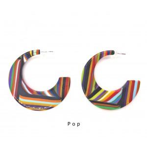Boucles d'oreilles Chissa Pop