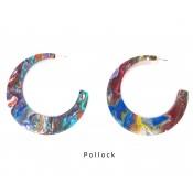 Boucles d'oreilles Glory Pollock