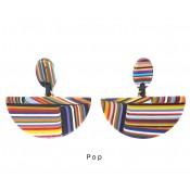 Boucles d'oreilles Pontilhado Pop Clip