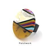 Bague Retalhos Patchwork