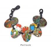 Bracelet Alinhavado Pollock