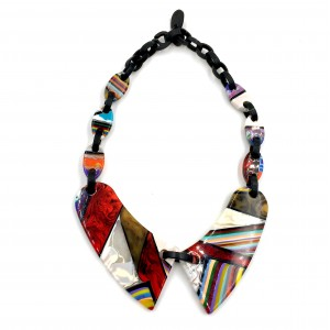 Collier Claudine Patchwork
