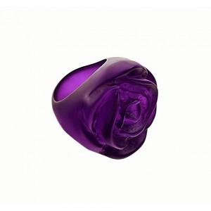 Bague Rose Violet Foncé Transparent