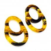 Boucles d'oreilles Feininger Miel